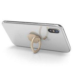 Uchwyt SPIGEN Style Pop Phone Ring Champagne Gold Złoty