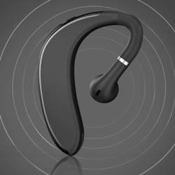 WK Design P12 zestaw słuchawkowy bezprzewodowa słuchawka Bluetooth 4.2 czarny