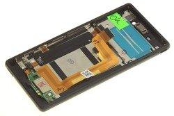 WYŚWIETLACZ SONY Xperia M4 Aqua Dual SIM Czarny Grade A LCD Dotyk Oryginalny