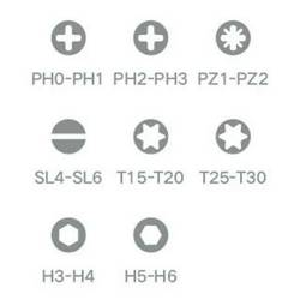 Xiaomi Mi śrubokręt x Wiha 16-in-1 Ratchet Screwdriver 30436